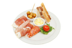 Tapas On A Plate Stock Photography