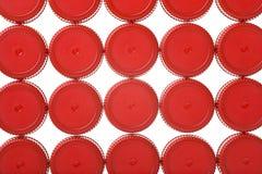Tapas plásticas Imagen de archivo libre de regalías