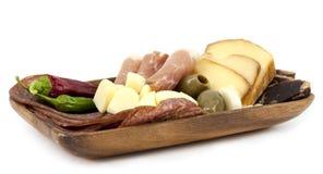 Tapas plate Stock Image