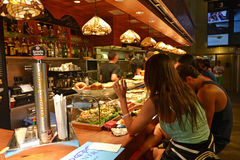 Tapas restaurant Royalty Free Stock Photo