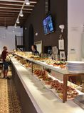 Tapas restaurant in Barcelona Royalty Free Stock Photo