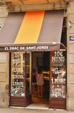 Tapas restaurant in Barcelona Royalty Free Stock Images