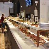Tapas restaurant in Barcelona Royalty Free Stock Image