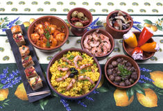 Tapas Royalty Free Stock Photo