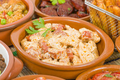 Tapas Royalty Free Stock Image