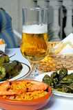 Tapas selection, Spain. Royalty Free Stock Image