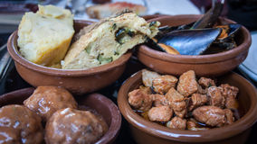 Tapas spain Royalty Free Stock Photos