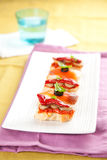 Tapas spain food Royalty Free Stock Image