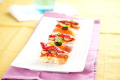 Tapas spain food Stock Photo