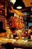 Tapasmarkt Stockbild