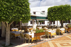 Tapasrestaurant Royalty-vrije Stock Afbeelding