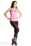 Tapdanser Posing Stock Fotografie