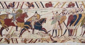 Tapeçaria de Bayeux Foto de Stock