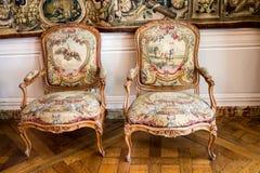 Tapeçaria de França do castelo de Chambord Imagens de Stock Royalty Free