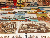 Tapeçaria heterogéneo árabe tradicional Imagem de Stock Royalty Free