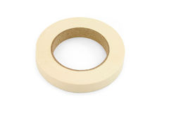 Tape. Sticky tape with white background Royalty Free Stock Photo