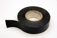 Tape. Roll of electrical tape royalty free stock photography