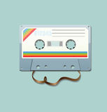 Tape. Vector old retro style tape Stock Photo