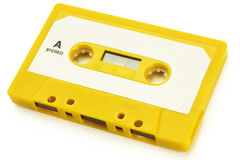 Tape. An audio tape on white background with clipping path Stock Images