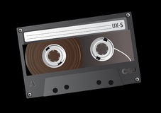 Tape. Abstract vector illustration of an old tape Royalty Free Stock Photos