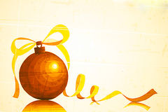 Tape Art Christmas Ornament. Arts sticky tape.Tape Art Christmas Ornament Royalty Free Illustration