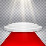 Étape avec les lumières scéniques ENV 10 Photo libre de droits