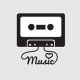 Tape Cassette. Tape Cassette Vector Illustration vector illustration