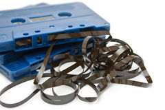 Tape cassette Stock Photography