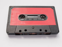 Tape cassette. Magnetic tape cassette for analog audio music recording Stock Photos