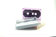 Tape Cassette Old audio tape Stock Image