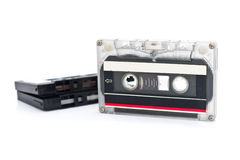Tape cassette Royalty Free Stock Images