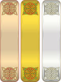 Tape with celtic an ornament Royalty Free Stock Photography