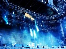 Étape de concert Images stock