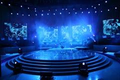 étape de concert Image stock