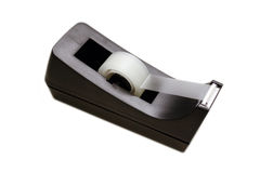 Tape Despensor. A tape despensor with clear tape on a solid white background Stock Images