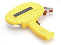 Tape Dispenser. Double sided tape dispenser pictures to matting for framing royalty free stock photo
