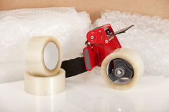 Tape dispenser royalty free stock photography