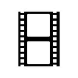 Tape film isolated icon. Illustration design Stock Photos