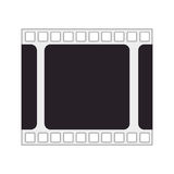 Tape film isolated icon. Illustration design Royalty Free Stock Image