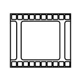 Tape film isolated icon. Illustration design Stock Images