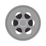 Tape film isolated icon. Illustration design Royalty Free Stock Images