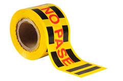 Tape. Isolated Royalty Free Stock Photo