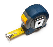 Tape measure. On white background Royalty Free Stock Photography
