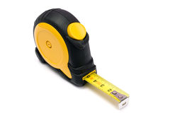 Tape measure. Isolated on white background Royalty Free Stock Photos