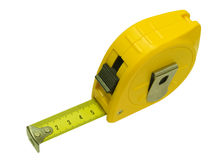 Tape Measure. Isolated on a white background Royalty Free Stock Photography