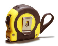 Tape measure. On a white background. Isolated Royalty Free Stock Photo