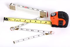 Tape Measure 2 Royalty Free Stock Photos