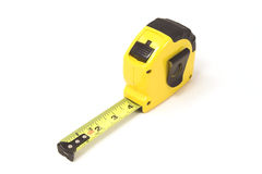 Tape Measure. Yellow and Black Tape Measure Royalty Free Stock Photos