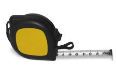 Tape measure. With a place to put your logo. (with clipping path Royalty Free Stock Photography
