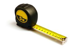 Tape measure. Isolated on white Royalty Free Stock Images